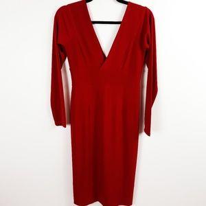 Victoria's Secret Moda Red Bodycon Dress
